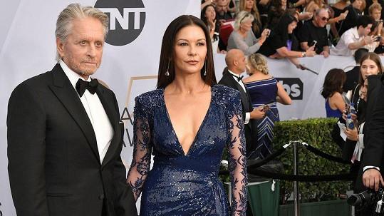 Catherine Zeta-Jones a Michael Douglas