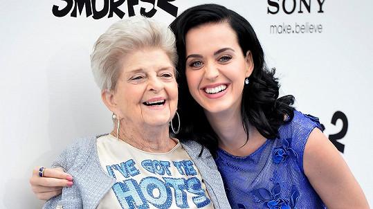 Katy Perry s babičkou Ann Pearl Hudson