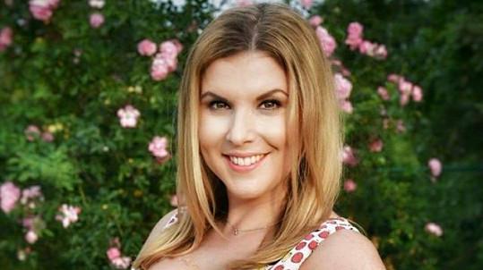 Marcela Tomčíková je v 5. měsíci těhotenství.