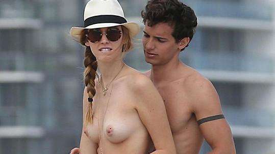 Chiara Ferragni s přítelem.