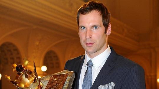 Petr Čech je ceněným fotbalistou.