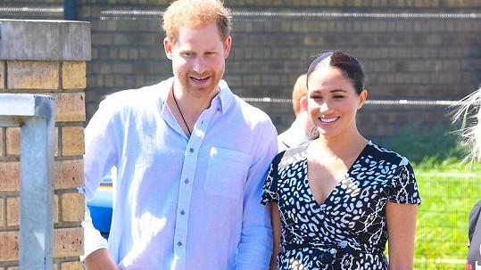 Harry a Meghan se naštvali na britský bulvár.