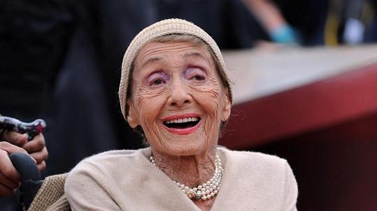 Luise Rainer byla i jako stoletá stařenka plná elánu.