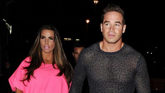 Katie Price a její manžel Kieran