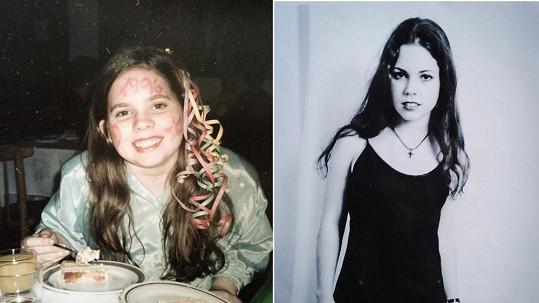 Zpěvačka mezi 13. a 14. rokem prošla drastickou dietou.