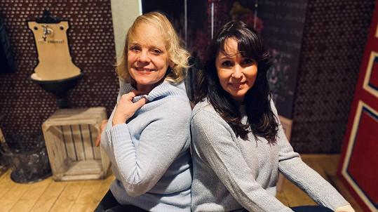 Veronika Jeníková se bude v nové roli alternovat s Heidi Janků (vpravo).