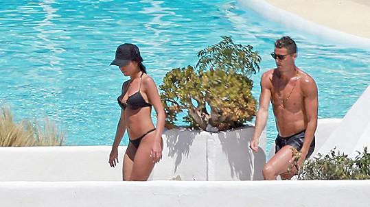 Cristiano Ronaldo s přítelkyní