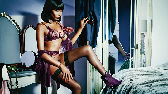 Naomi Campbell pro Agent Provocateur