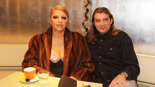 Nora Mojsejová s exmanželem Braňem