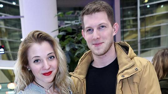 Anna a Filip tvoří sympatický pár.