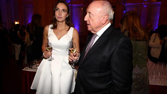 Felix Slováček s Lucií Gelemovou