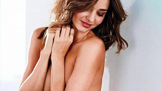 Australanka Miranda Kerr pro Victoria's Secret.