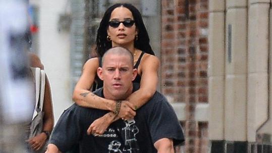 Zoë Kravitz a Channing Tatum spolu tráví hodně času.