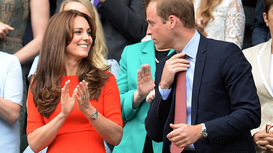 William s Catherine na Wimbledonu