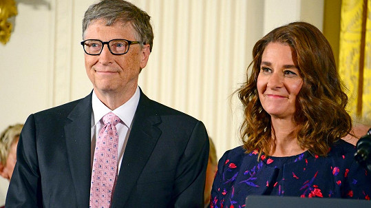 Bill a Melinda Gatesovi oznámili rozvod.