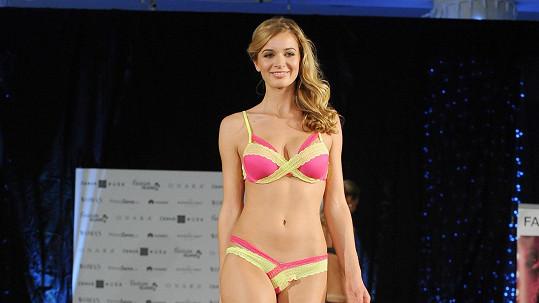 Gabriela Franková na módní show