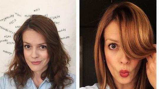 Andrea Růžičková před a po