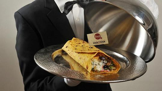 Nejdražší kebab světa od Andyho Batese.