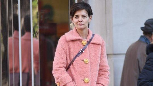 Katie Holmes v New Yorku
