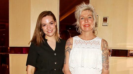 Marcela Březinová s dcerou Vandou