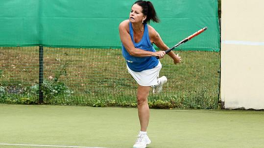 Adrienu trénoval manžel Luděk Sobota.