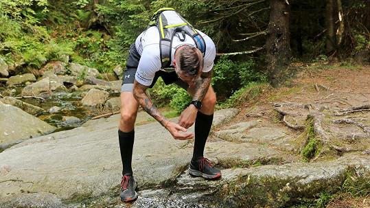 Petr Vágner na pokraji sil při běhu dlouhém 50 km