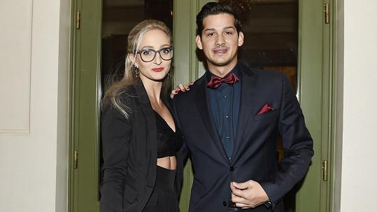 Martin Čermák s přítelkyní
