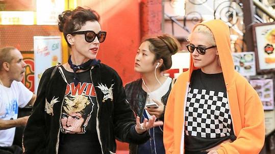 Kristen Stewart a St. Vincent společně v New Yorku