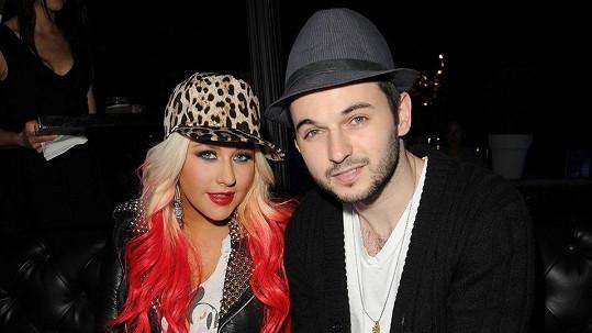 Christina Aguilera se snoubencem Mattem Rutlerem