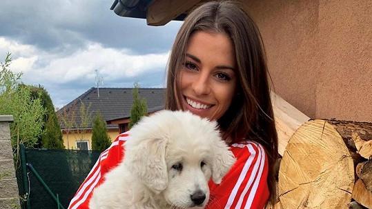 Tereza Budková si pořídila psa neobvyklé rasy.