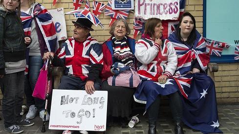 Lidé tentokrát věřili, že čtvrtou následnicí britského trůnu bude dívka.