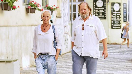 Alena Semelková s manželem Leškem Semelkou