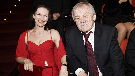 Karel Šíp s manželkou