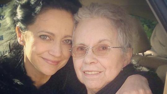 Lucie Bílá s maminkou Hanou Zaňákovou