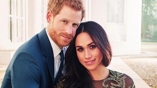 Harry se dnes ožení s Meghan.
