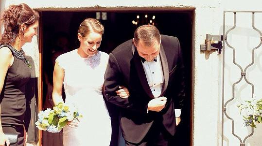 Dominika s manželem Robertem