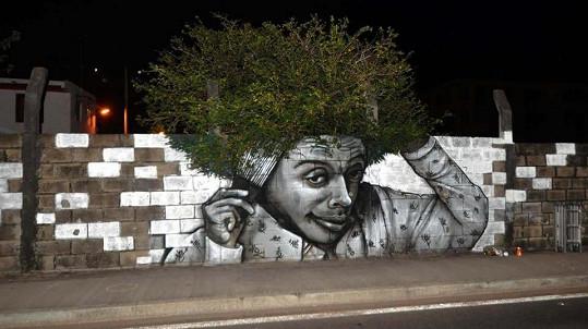 Street art v Londýně