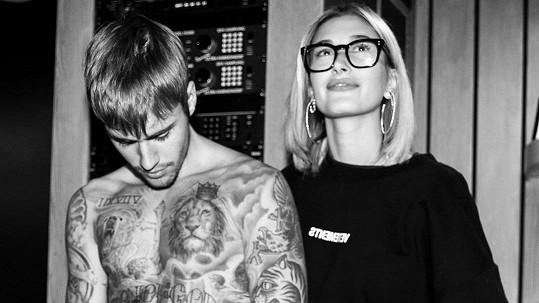 Justin Bieber s manželkou Hailey Baldwin