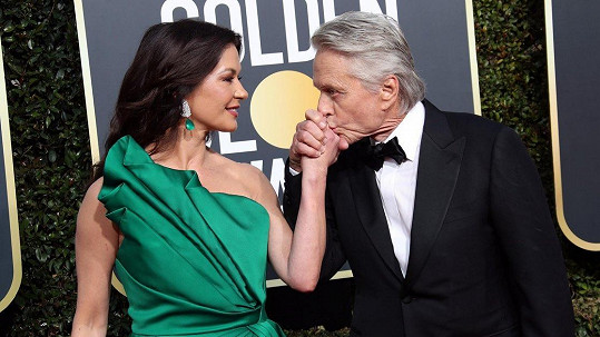 Michael Douglas a Catherine Zeta-Jones