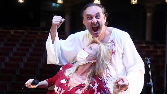 Kateřina Brožová a Marian Vojtko to pořádně rozjeli.
