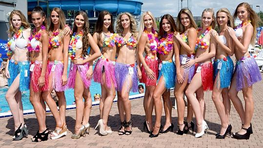 Semifinalistky soutěže Miss léta