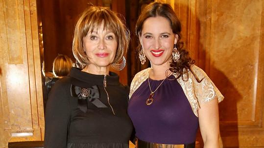 Petra Černocká přišla podpořit dceru na její velkolepé vystoupení.