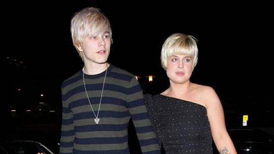 Kelly Osbourne a Luke Worrall byli nerozlučná dvojice.