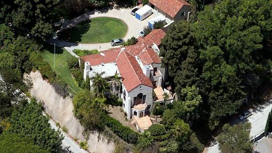 Dům v Los Angeles, který Russell Brand přenechal Katy Perry.