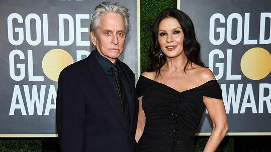 Michael Douglas s manželkou Catherine Zetou-Jones