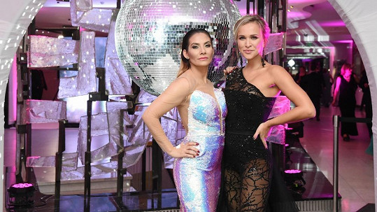 Eva Decastelo a Nela Slováková jsou kamarádky.