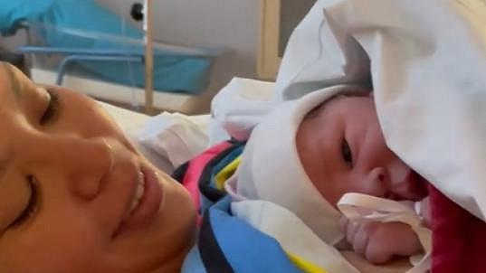 Monika Leová s dcerou Miou