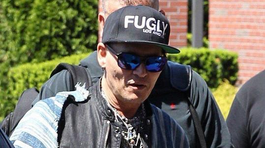 Johnny Depp není v nejlepší formě...