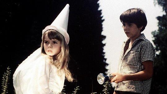 Dana Vávrová ve filmu Ať žijí duchové! (1977)