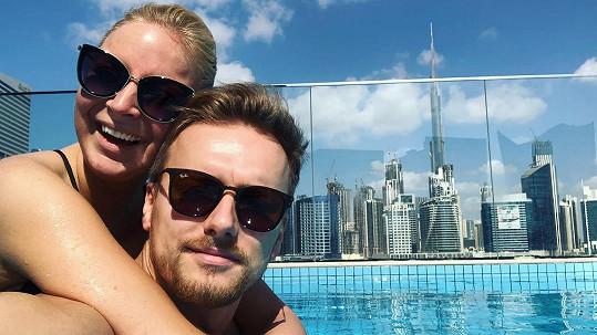 Markéta Konvičková si s přítelem užívá dovolenou v Dubaji.
